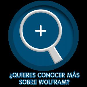 Logo Conocer Más de Wolfram